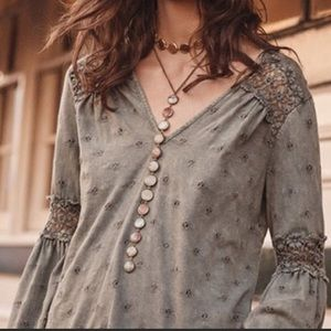 Anthropologie Eri + Ali Calvie Blouse